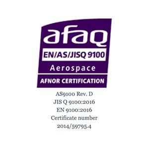 AFAQ EN/AS/JISQ 9100 logo