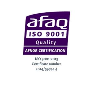 AFAQ ISO 9001 Quality logo